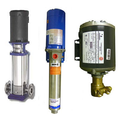 Commercial R/O Pumps and Motors