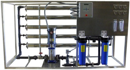 Multi Membrane Industrial Reverse Osmosis Unit: LP-20